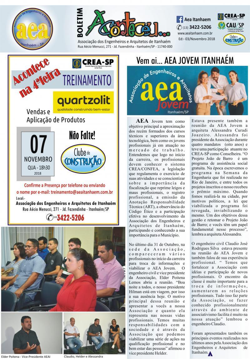 Boletim 03 - AEA Jovem Itanhaém