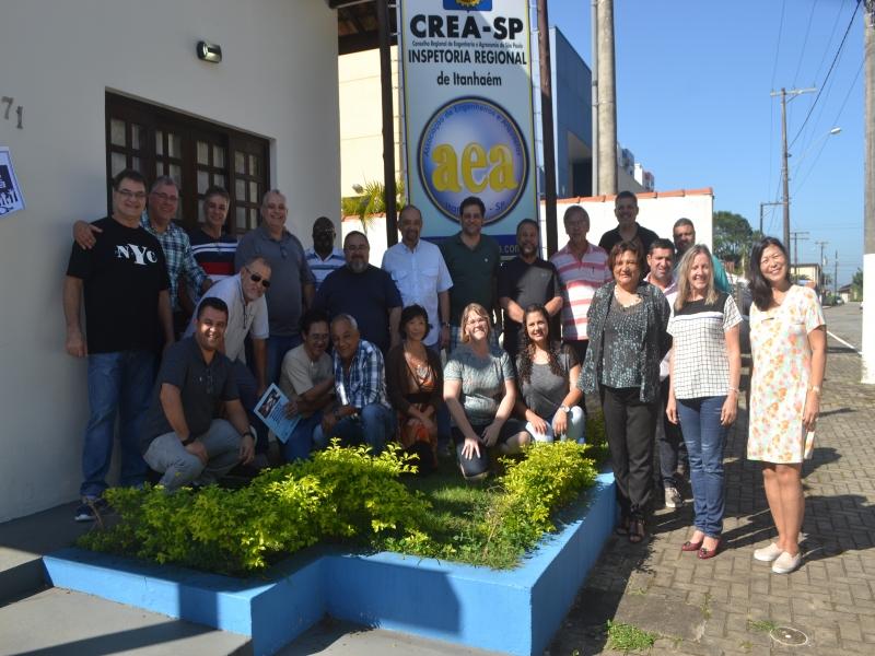 Reunião da UALP foi realizada na AEA Itanhaém