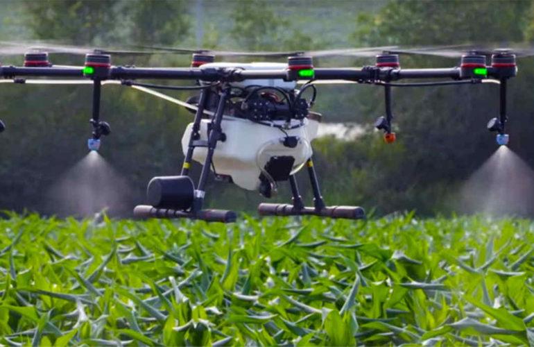 Uso de Drone na Agropecuária